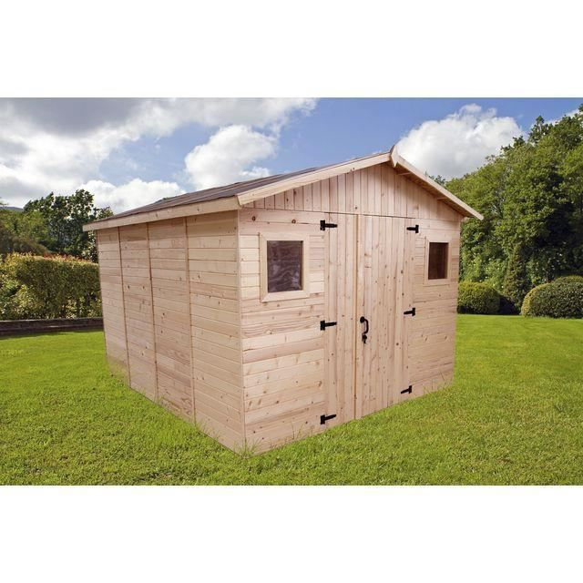 abri de jardin m2 m paisseur 16 mm achat vente abri jardin chalet abri de. Black Bedroom Furniture Sets. Home Design Ideas