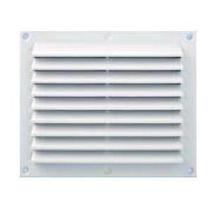 Grille ventilation anti pluie rectangulaire blanc fermeture achat v - Grille de ventilation hygroreglable ...