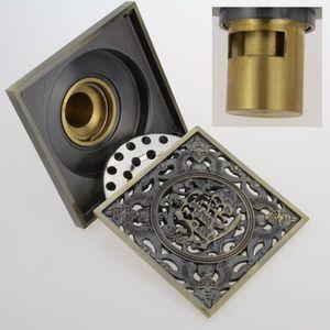 COLONNE - ARMOIRE SDB Toutes les bains de cuivre drain de plancher odeur