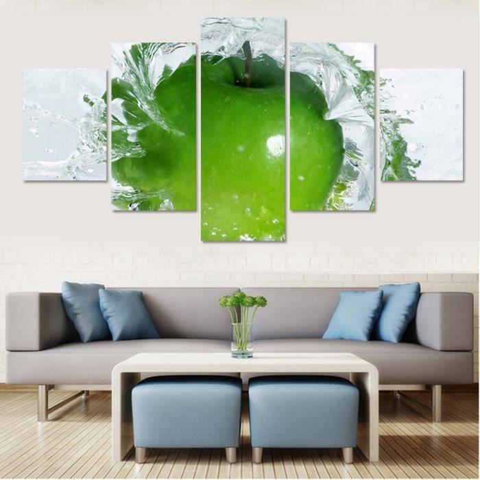 pas encadrée 5 ensembles toile peinture décorative cuisine peinture