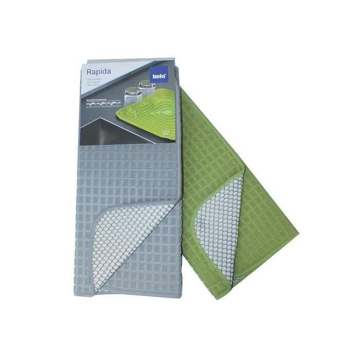 Tapis d 39 evier rapida vert achat vente tapis de cuisine for Tapis de cuisine vert d eau