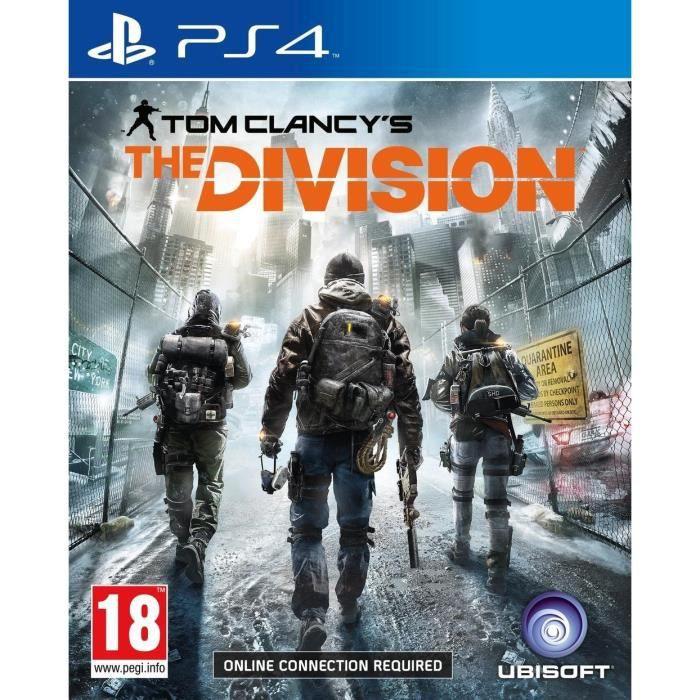 jeux pc video console ps the division jeu f  ubi