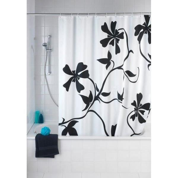 rideau de douche dessin no 7 achat vente rideau de douche les soldes sur cdiscount. Black Bedroom Furniture Sets. Home Design Ideas