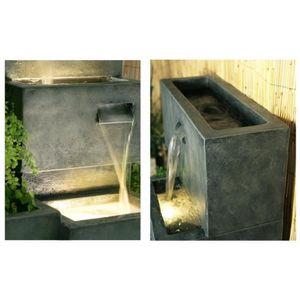 fontaine de jardin achat vente fontaine de jardin pas cher les soldes sur cdiscount. Black Bedroom Furniture Sets. Home Design Ideas