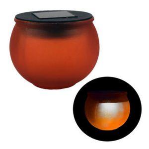 LAMPE A POSER Lampe nomade à led, sans fil, de table, boule oran