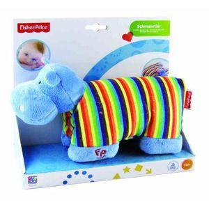 PELUCHE FISCHER PRICE - 40841 - COUSSIN PELUCHE HIPPO