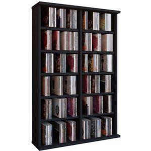 meuble rangement dvd avec portes achat vente meuble rangement dvd avec portes pas cher les. Black Bedroom Furniture Sets. Home Design Ideas