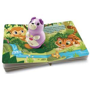 LIVRE D'ÉVEIL LEAPFROG Pack Mon Lecteur Violette + livre inclus