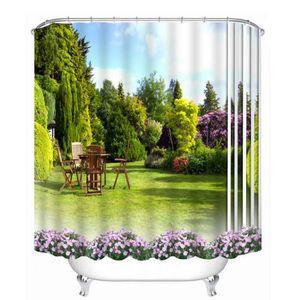 rideau de douche beau paysage achat vente rideau de douche beau paysage pas cher les. Black Bedroom Furniture Sets. Home Design Ideas