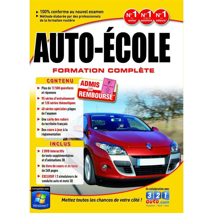 Auto Ecole 3d