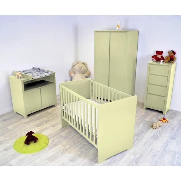 Chambre b b floride compl te ivoire achat vente chambre compl te b b 20 - Chambre bebe cdiscount ...