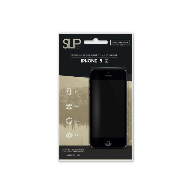 iphone 5 32 go noir achat smartphone pas cher avis et. Black Bedroom Furniture Sets. Home Design Ideas