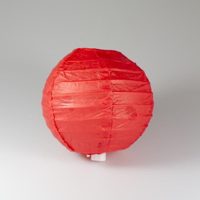 lanterne chinoise 10 cm rouge achat vente lanterne fantaisie soldes d hiver d s le 6. Black Bedroom Furniture Sets. Home Design Ideas