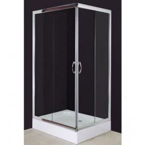 cabine de douche avec receveur 100x80 cm achat vente douche receveur cabine de douche avec. Black Bedroom Furniture Sets. Home Design Ideas