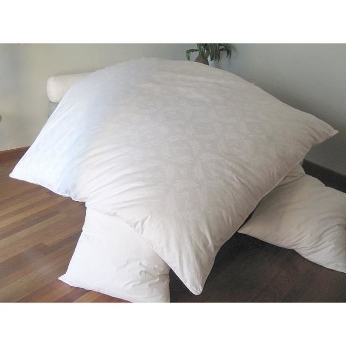 edredon gonflant damass motif dimension 90x1 achat vente couverture plaid cdiscount. Black Bedroom Furniture Sets. Home Design Ideas