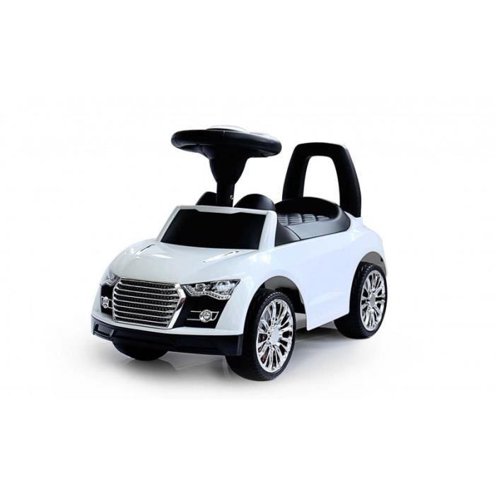 porteur petite voiture pousseur b b rouge blanc bleu avec la musique et la corne auto wei. Black Bedroom Furniture Sets. Home Design Ideas
