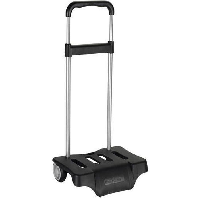 chariot roulettes noir pour sac dos achat vente cartable 8412688139415 cdiscount. Black Bedroom Furniture Sets. Home Design Ideas