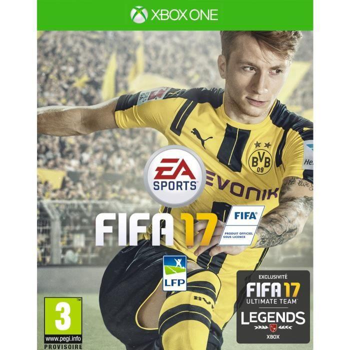 JEUX XBOX ONE FIFA 17 Jeu Xbox One