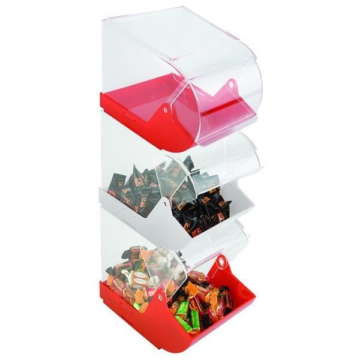 Boite a bonbons rouge achat vente boites de for Maison rouge boite de nuit