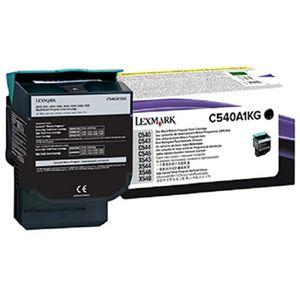 LEXMARK Cartouche toner C540A1KG - Compatible C540/C543/C544/X543/X544 - Noir - Capacité standard