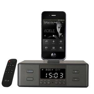 radio reveil iphone achat vente radio reveil iphone pas cher cdiscount. Black Bedroom Furniture Sets. Home Design Ideas