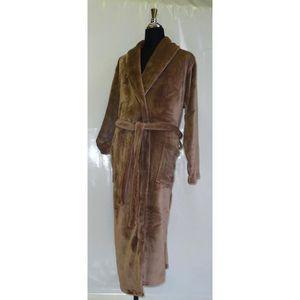ROBE DE CHAMBRE Robe de chambre microfibre Grand Luxe S/M coco