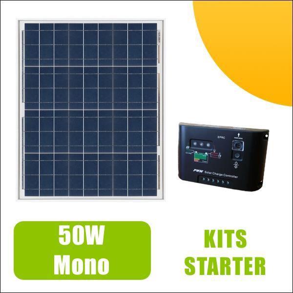 kit panneau solaire 50w monocristallin 12v et r gulateur 5a achat vente kit photovoltaique. Black Bedroom Furniture Sets. Home Design Ideas