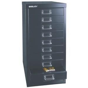 Bisley armoire tiroirs basique a4 10 tiroirs achat for Armoire a tiroirs de bureau