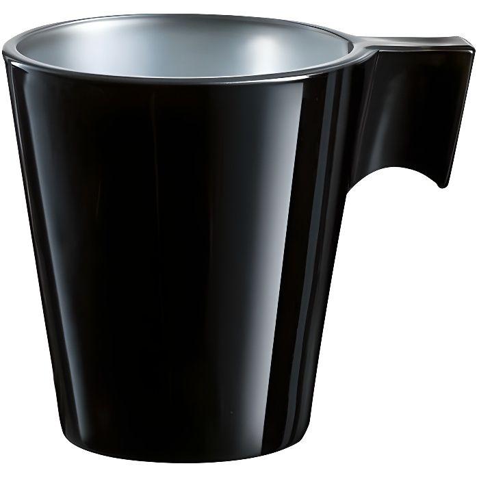 tasse expresso m tallis noir 8cl achat vente service th caf cdiscount. Black Bedroom Furniture Sets. Home Design Ideas