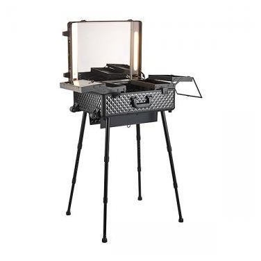 Table make up portable peggy sage achat vente trousse - Petite table a roulette ...