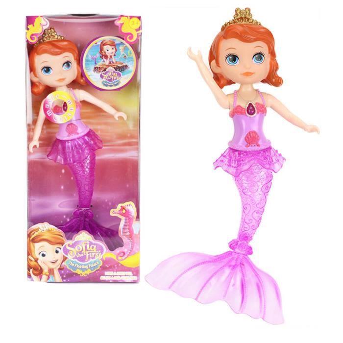 Mermaid Princesse Jouets Poupées Avec De La Musique Légère