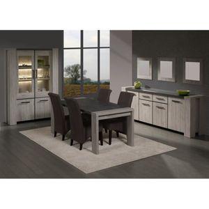 chaise salle a manger rustique achat vente chaise salle a manger rustique pas cher cdiscount. Black Bedroom Furniture Sets. Home Design Ideas