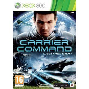 JEUX XBOX 360 Jeux vidéo Xbox 360 Carrier command gaea mission