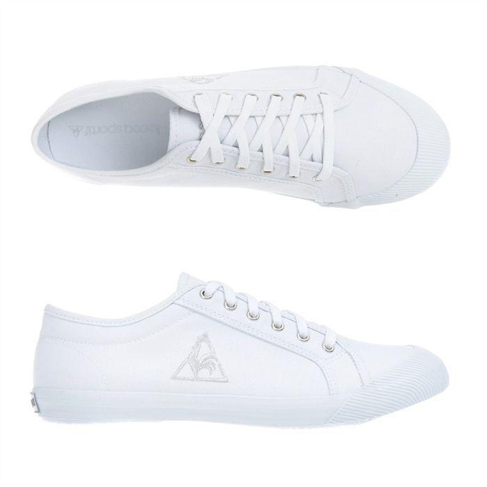 83ec0e2803f chaussure blanche le coq sportif
