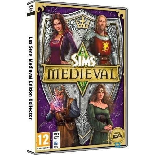 les sims medieval edition collector jeu pc achat vente jeu pc les sims medieval collector. Black Bedroom Furniture Sets. Home Design Ideas
