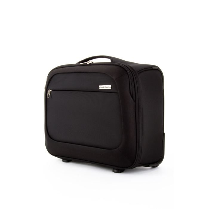 samsonite pilot case trolley souple b lite noir noir achat vente valise bagage. Black Bedroom Furniture Sets. Home Design Ideas