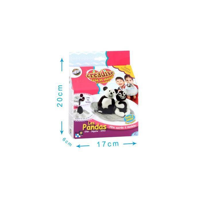 Creadise coffret pandas p te sucre achat vente kit - Coffret cuisine creative ...
