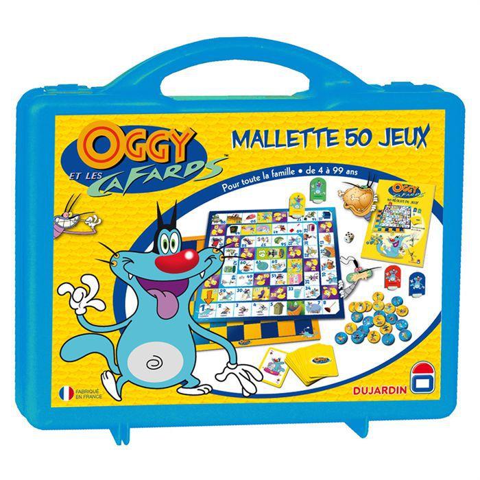 Jeux Oggy  Cafards  Frites on Mallette 50 Jeux Oggy Et Les Cafards   Achat   Vente Jeu De Plateau