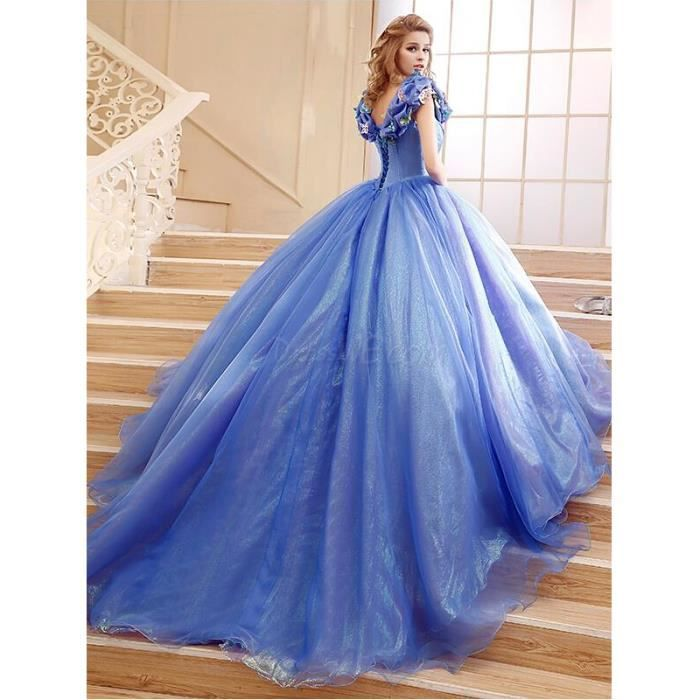 Robe de princesse cendrillon for Robe de cendrillon pour mariage