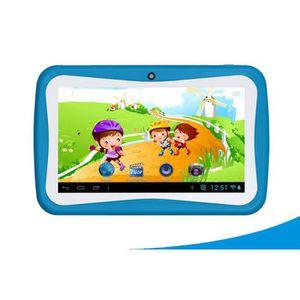JEU CONSOLE EDUCATIVE Tablet PC Enfants Four Android 5.1 Mooncake bleu n