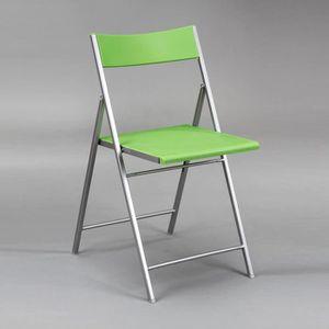 CHAISE Chaise Pliable pvc finition Vert