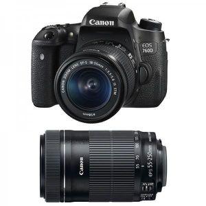 APPAREIL PHOTO RÉFLEX CANON EOS 760D + Objectif EF-S 18-55 mm f/3,5-5,6