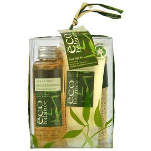 COFFRET CADEAU CORPS Coffret de Bain - Eco Balance - Bambou et Citro…