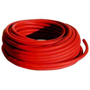 CÂBLE DE DÉMARRAGE Câble pour pinces de démarrage 25 mm² rouge