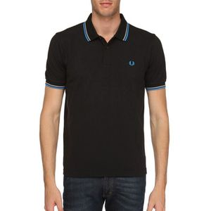 POLO POLO FRED PERRY HOMME NOIR SLIM FIT