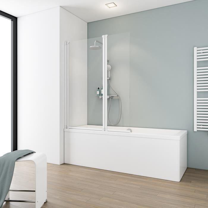 Pare baignoire achat vente pare baignoire pas cher for Carrelage adhesif salle de bain avec achat projecteur led