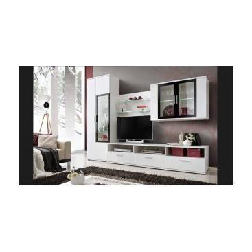 Meuble tv mural maritza achat vente meuble tv meuble for Finlandek meuble tv mural katso 160cm blanc et noir