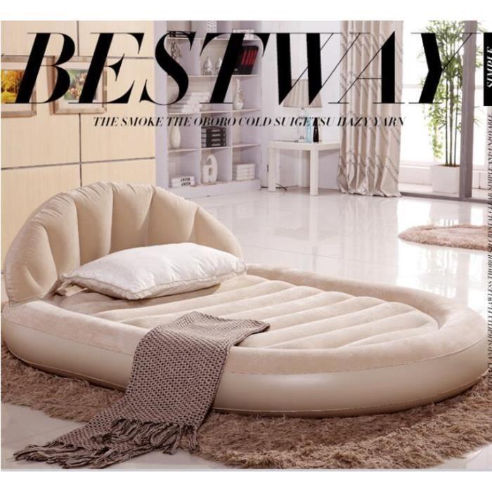 lit gonflable 2 personnes comfort plush high intex livraison france libre par colissimo achat. Black Bedroom Furniture Sets. Home Design Ideas