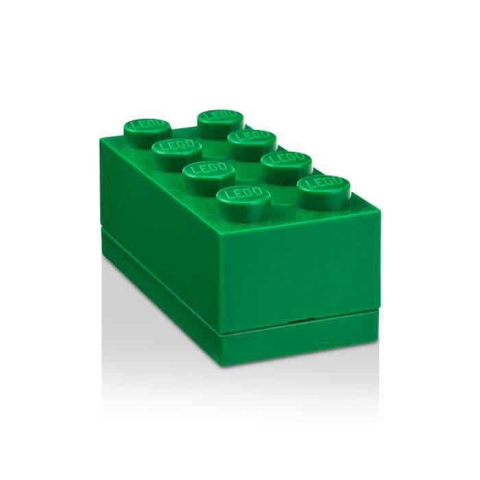 bo te de rangement lego mini 8 vert achat vente pi ce monde mini soldes d t cdiscount. Black Bedroom Furniture Sets. Home Design Ideas