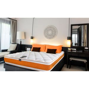 matelas 140x190 epaisseur 19 cm achat vente matelas 140x190 epaisseur 19 cm pas cher cdiscount. Black Bedroom Furniture Sets. Home Design Ideas